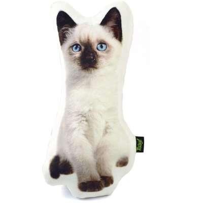 Almofada Yaay de Pelúcia Coleção Cute Cats - Siamês