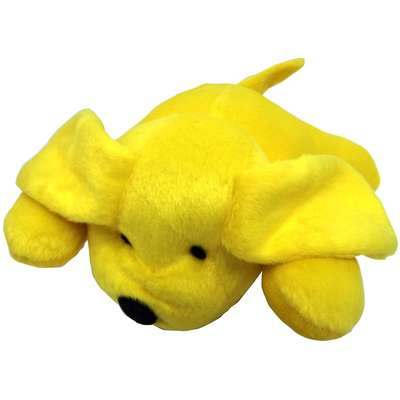 Brinquedo Cachorro de Pelúcia Furacão Pet - Amarelo