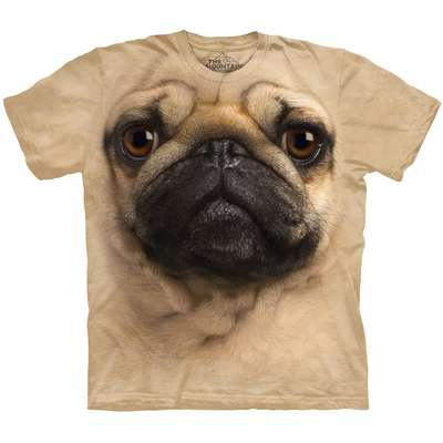 Camiseta The Montain T Shirt Pug
