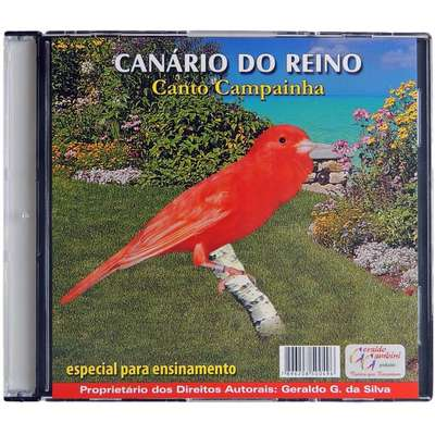 CD Canário do Reino Canto Campainha