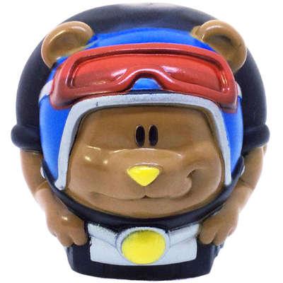 Brinquedo Duki Bola de Vinyl Super Resistente - Ursinho Motoqueiro