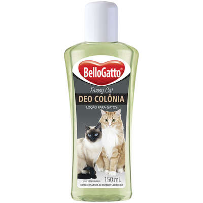 Deo Colonia Bellogatto para Gatos - 150 ml