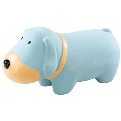 Brinquedo Ferplast em Látex Cachorro Azul